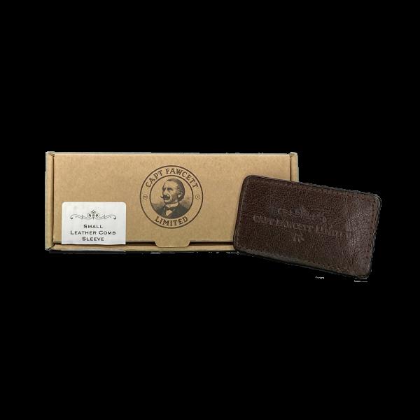 Captain Fawcett's Small Leather Comb Sleeve