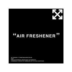 Off White Air Freshener