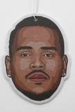 Chris Brown Air Freshener (Scent: Grape)